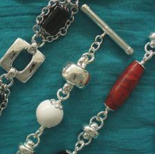 Bracciali argento e pietre