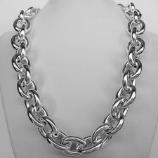 Oval link necklaces
