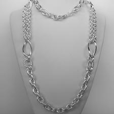 Long Silver Necklaces
