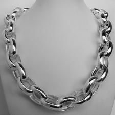Oval rolo link necklaces
