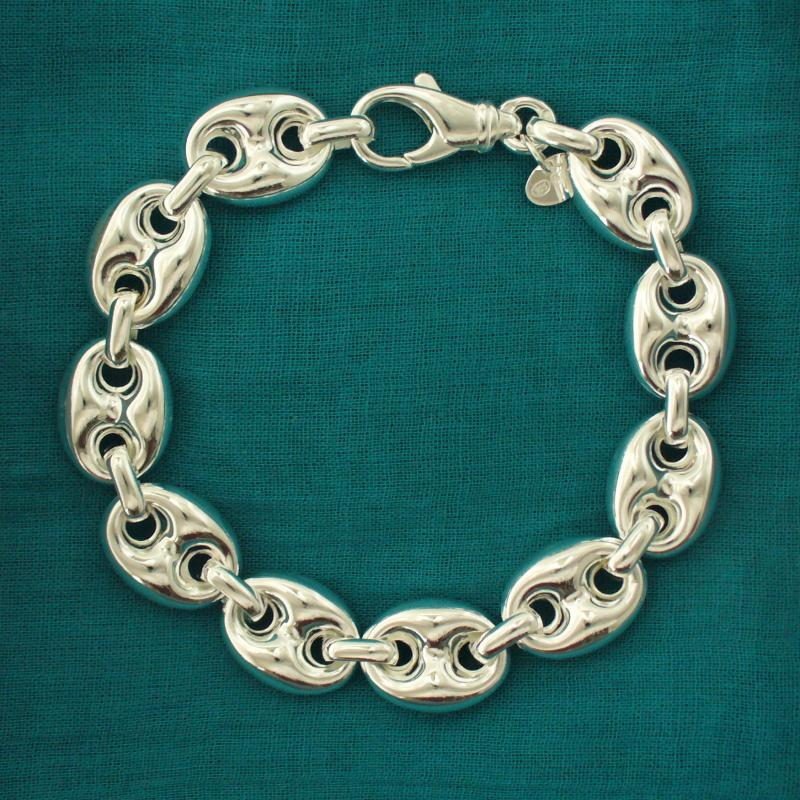 Catena marinara - Bracciale argento