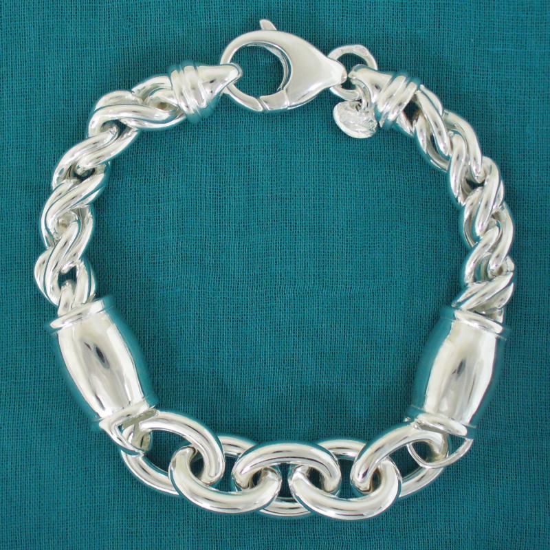 925 Italy silver bracelet for womens
