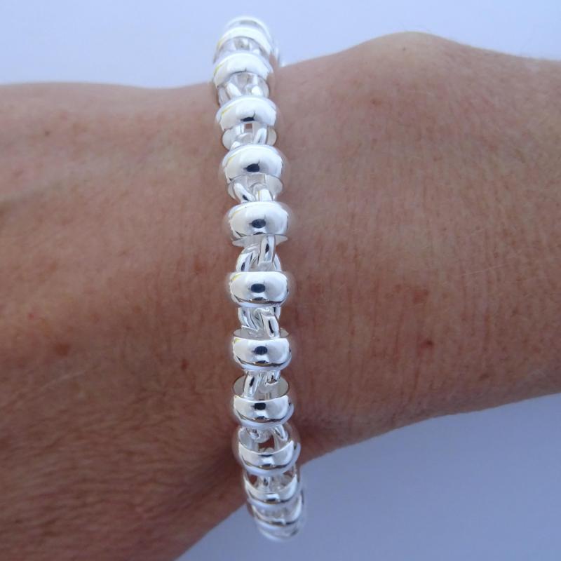 Solid silver vintage bracelet