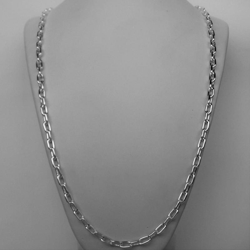 Italy solid silver necklace for men