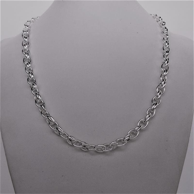 Solid 925 Italy silver necklace