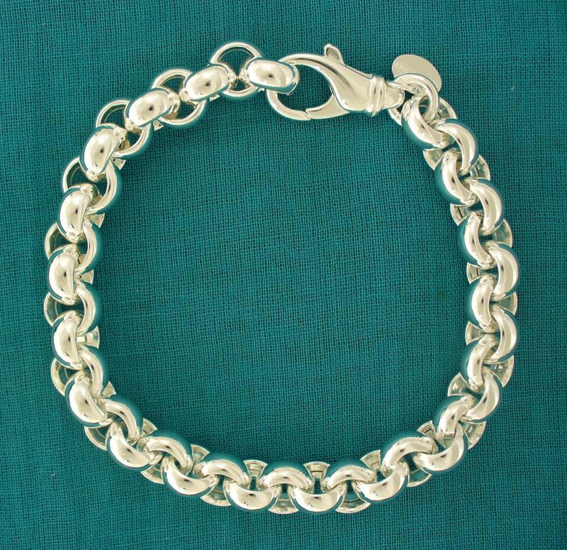 Bracciale argento 925 rolo tondo - Gioielli argento