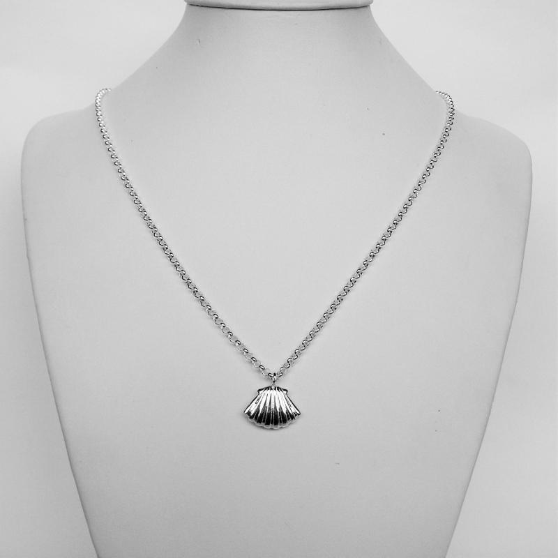 Collana argento conchiglia