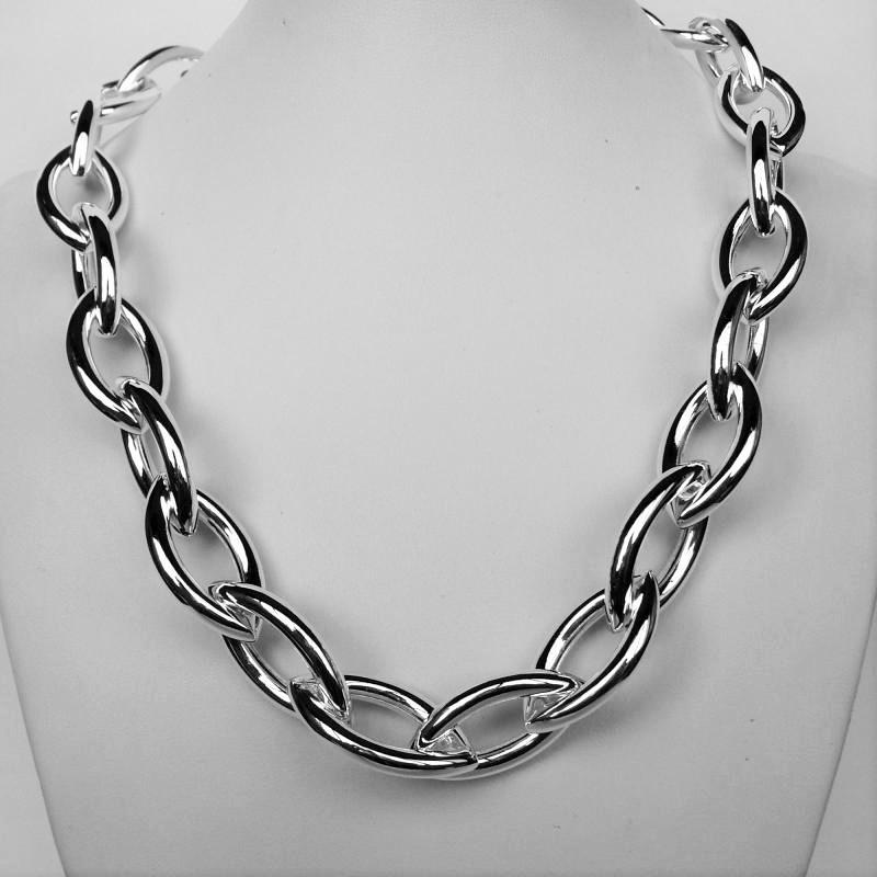 design senza tempo b1b68 d29ee Collana catena argento - Catena collana grande