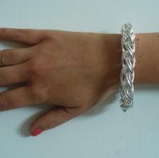 Gioiello in argento 925 - catena spiga palmier in argento