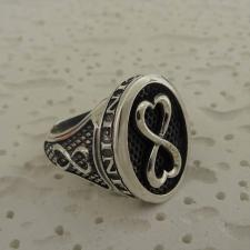 Anello donna in argento 925 simbolo infinito