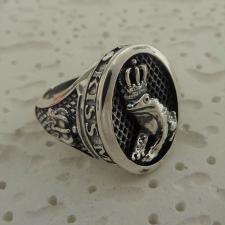 Anello in argento con ranocchio