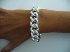 Bracciale grumetta argento 925 donna - Grumetta 16mm