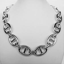Anchor chain necklace in 925 silver