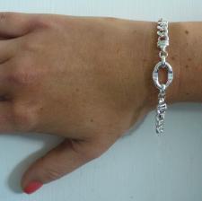 Gioielli in argento catena - Bracciale unisex in argento 925