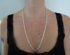 Collana lunghezza 70cm in argento 925