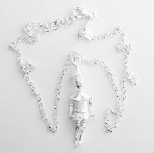 Collana pendente pinocchio in argento 925