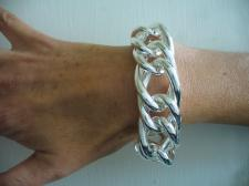 Grande bracciale in argento 925