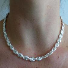 Mariner necklace in sterling silver