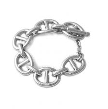 Sterling silver nautical bracelet