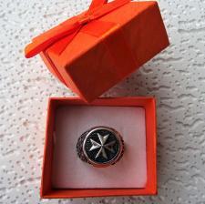 Produttore grossista anelli chevalier uomo in argento 925