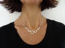 Collanina in argento 925.