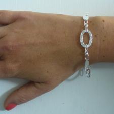 Braccialetto argento maglie ovali - Gioielli in argento 925