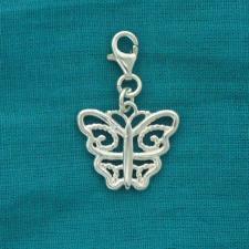 Ciondolo farfalla in argento 925 - Charme farfalla argento