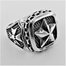 Anello stella 5 punte in argento