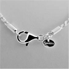 Men's sterling silver rope chain necklace 2.8mm. Length 60 cm.