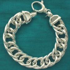 Bracciale argento 925 donna - grumetta rada 16mm