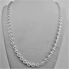 Collana in argento 925 maglia marina versione piccola. Larghezza 5mm. Lunghezza 60 cm.