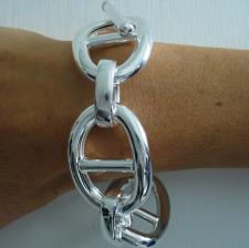 Nautical bracelet in sterling silver