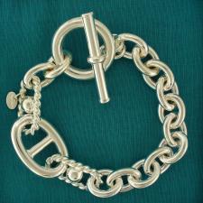 Maglia argento - Bracciale maglia