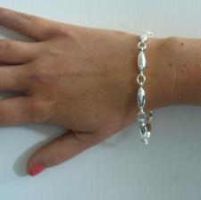 Bracciale ovaline - Gioielli in argento.