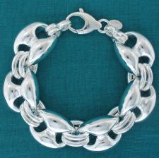 Silver mariner bracelet 20mm