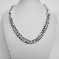 Sterling silver curb necklace 10mm