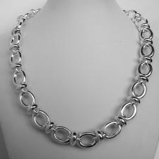 Sterling silver handmade necklace 13mm.