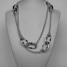 Silver necklace lenght 1 meter