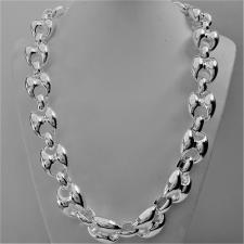 CLASSICA collana maglia marina in argento 925. Larghezza maglia 20mm. Lunghezza 55 cm. ARTICOLO P...