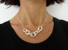 Silver necklace made in Italy