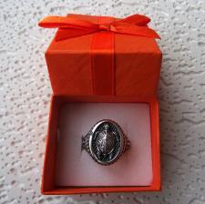 Anello uomo in argento con tartaruga