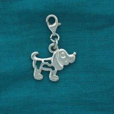 Ciondolo cane argento 925 - Charme in argento 925