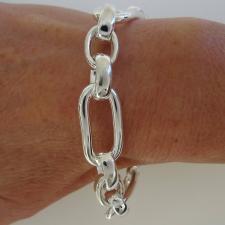 Sterling silver bracelet for womens