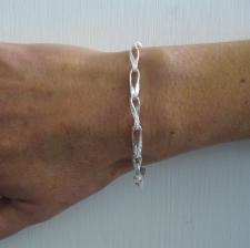 Braccialetto leggero in argento