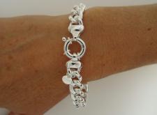 Bracciale classico catena in argento 925