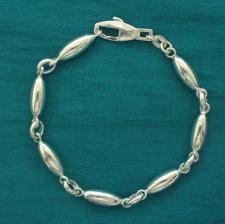 Bracciale ovaline. Gioielli in argento.