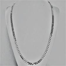 Italian sterling silver curb chain necklace 5mm