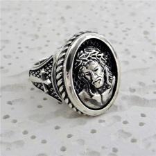 Anello cristo in argento 925