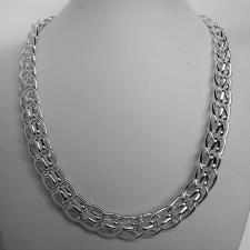 Vintage silver necklace 12mm.