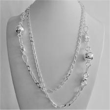 Collana catena maglia Cheval in argento 925